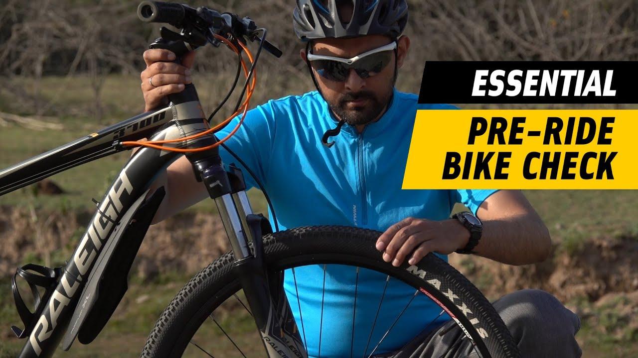 The Pre-Ride Bike Check