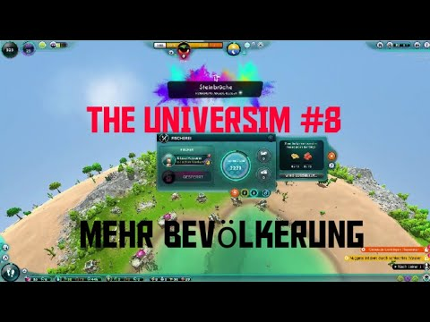 THE UNIVERSIM #8 - Endlich mehr Bevölkerung ;-) Deutsch / German Let´s Play from YouTube · Duration:  16 minutes 39 seconds