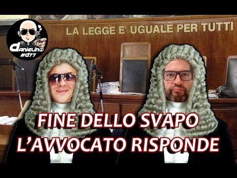 FINE DELLO SVAPO - L'AVVOCATO RISPONDE in LIVE