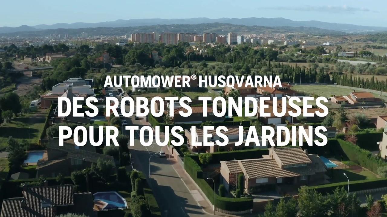 Quelque soit votre surface de jardin, nous avons l'automower® HUSQVARNA adapté !