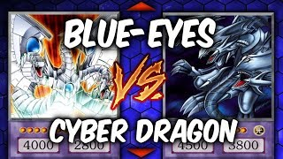Yugioh! RITCHIE VS XYLO!  BLUE-EYES VS CYBER DRAGONS