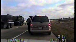 Raw Video: Illinois State Police footage from I-88 shooting
