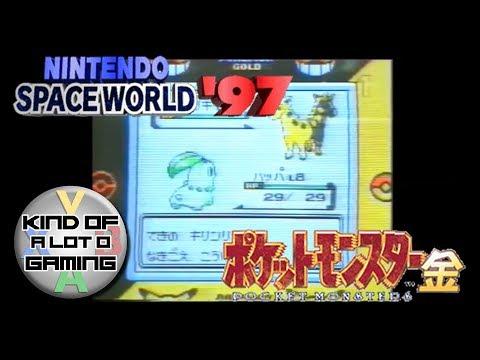 Pokémon Gold - Spaceworld '97 Demo Gameplay (Real Hardware)