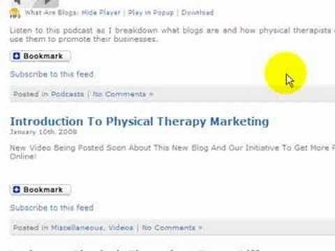 Free Physical Therapy Marketing Course