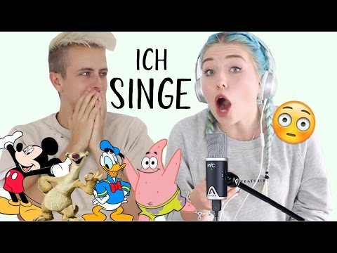 ich SINGE :o Das PEINLICHE Gesangsbattle ! BibisBeautyPalace