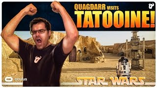 STAR WARS - Virtual Reality | Visiting Tatooine! - May the FUNK be with you!