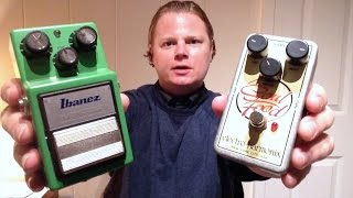 ibanez ts9 tube screamer vs electro harmonix soul food