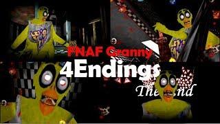FNAF Granny【MOD】4Endings ~4つ全てのエンディング~ thumbnail