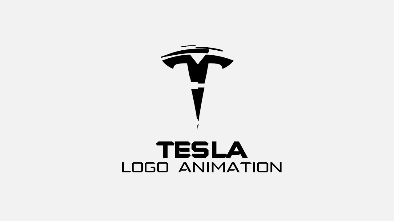 Tesla Logo Animation Tutorial YouTube