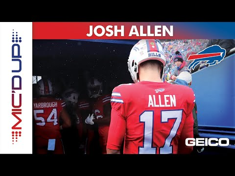 Josh Allen Mic'd Up presented by GEICO | Buffalo Bills