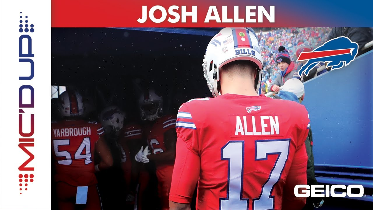 check out 882e7 4a0ff Josh Allen Mic'd Up presented by GEICO | Buffalo Bills