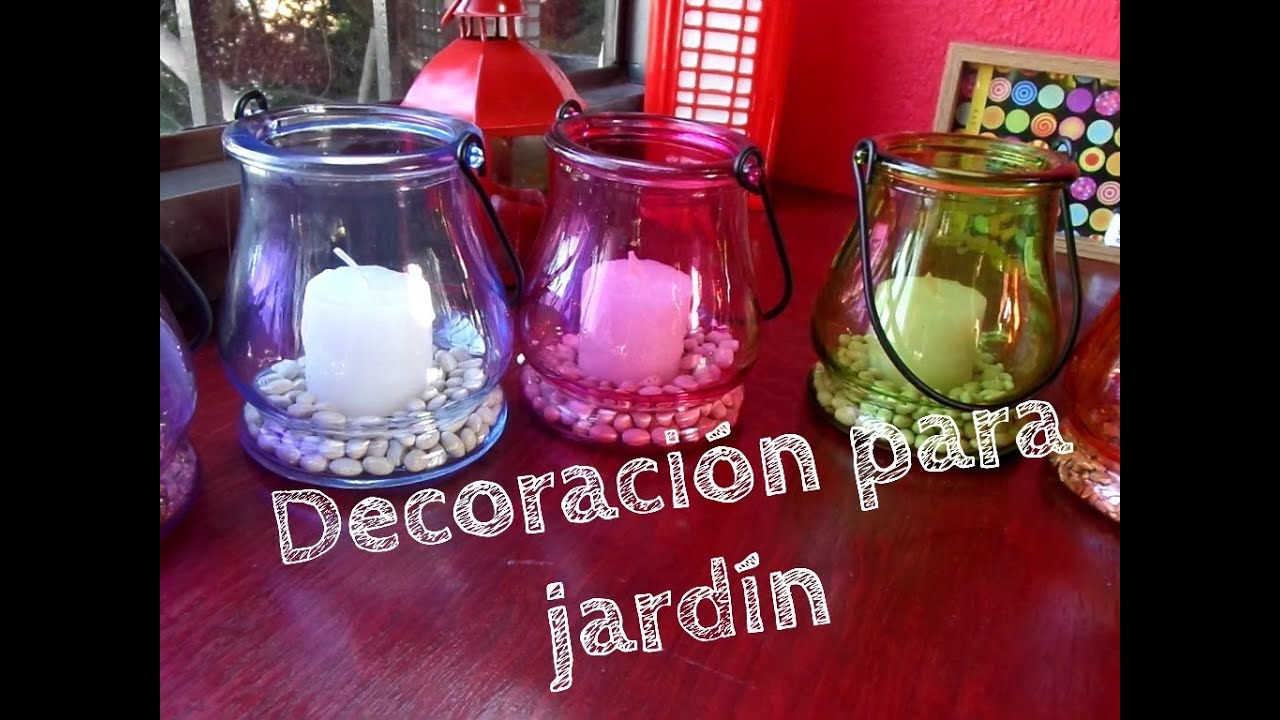 L mparas para jard n jess youtube for Antorchas para jardin caseras