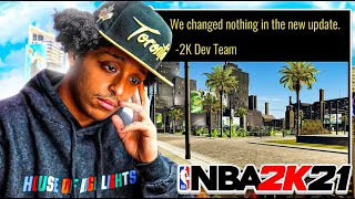 WITH THIS FINAL UPDATE, 2K OFFICIALLY GAVE UP ON 2K21
