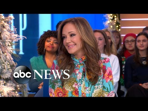 Leah Remini dishes about her co-star and BFF Jennifer Lopez