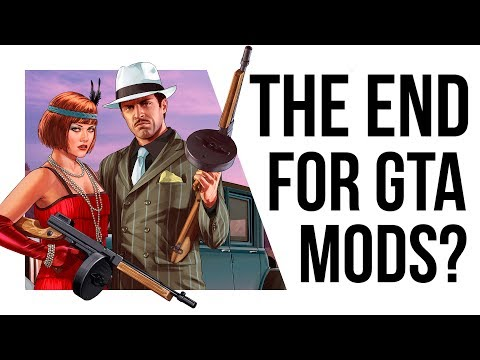 GTA MODS ARE ILLEGAL NOW!?