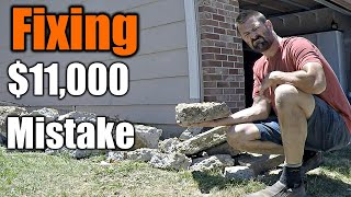 Fixing Home Owners $11,000 Mistake | THE HANDYMAN |