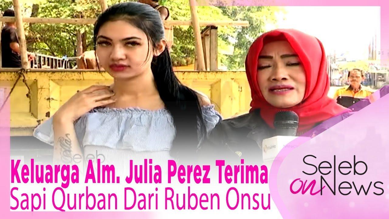 Bikin Haru…  Keluarga Alm. Julia Perez Terima Sapi Qurban Dari Ruben Onsu – SELEB ON NEWS