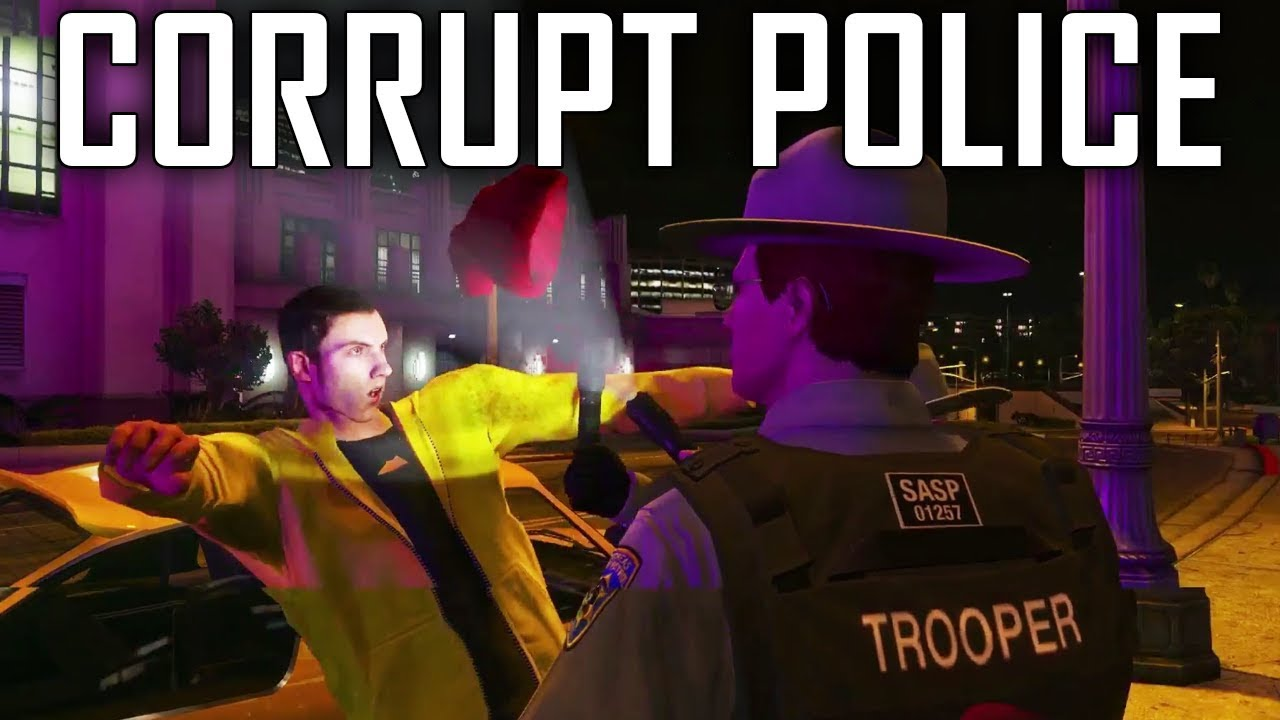 Lil Squirt PUNCHED BY COP! - GTA V RP (SilentSentry NoPixel GTA 5 Role Play)