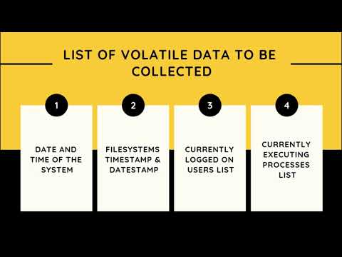 Volatile Information In Hindi | Digital Forensic Lectures In Hindi
