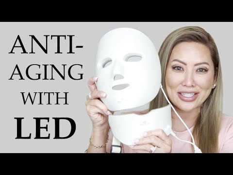 intro-to-anti-aging-led-light-therapy-|-project-e-photon-mask-+-nuface-wrinkle-reducer