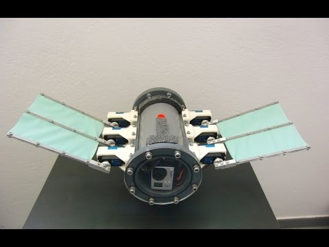 Motion control of a bio-inspired underwater robot with undulatory fin propulsion