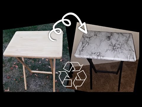 DIY Tray Table Upcycle