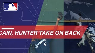 Cain channels Hunter with homer robbery in Milwaukee