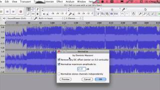 How to Normalize MP3 Files : Audio & Video Files