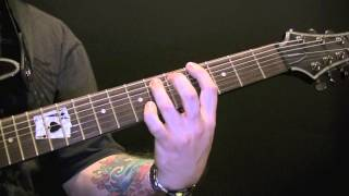 Cradle Of Filth Temptation Guitar Lesson