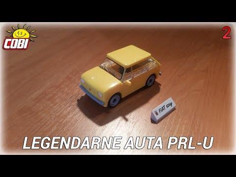 FIAT 126p | LEGENDARNE AUTA PRL-U | SKŁADANIE KROK PO KROKU