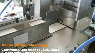 Semi Automatic Facial Tissue Paper Packaging Machines ( TZ-A-800-2A )