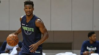 Jimmy Butler CURSES OUT THE TIMBERWOLVES IN PRACTICE AFTER RETURN!