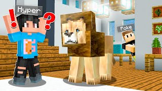 I Put REAL ANIMALS In His Minecraft Home!