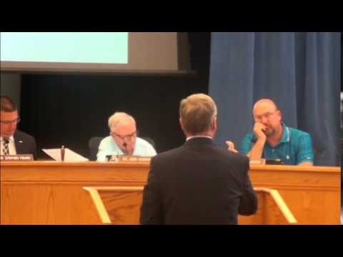 Cleveland County School Board Meeting 8-11-2014