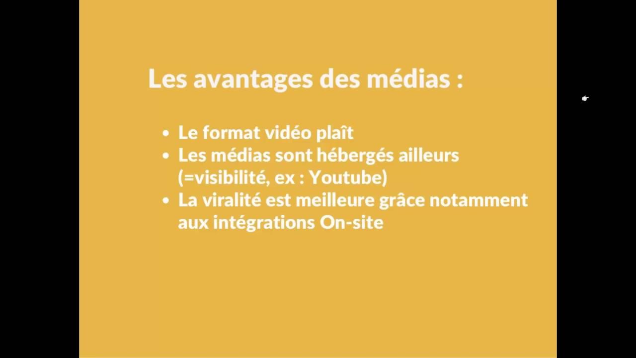 Content Marketing - Quelle est la part d'articles (textes) VS médias (vidéos, audios...) ?