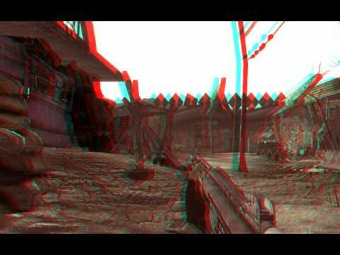 Fallout 3D - Anaglyph 3D (red/cyan) Movie