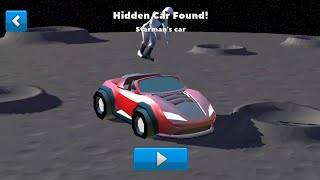 "Crash of Cars - Hidden car ""Starman"