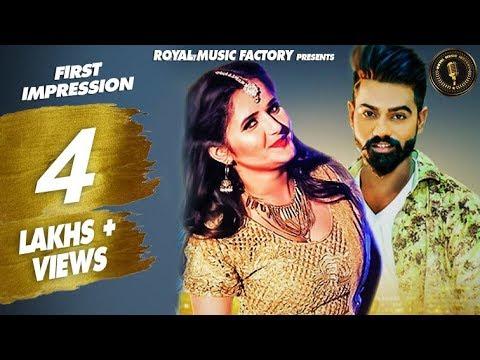 First Impression   Bhaskar Bohariya, Anjali Raghav   Raj Mawar   New Haryanvi Songs Haryanavi 2019