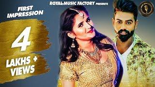 First Impression | Bhaskar Bohariya, Anjali Raghav | Raj Mawar | New Haryanvi Songs Haryanavi 2019
