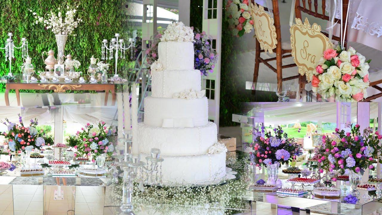 Decoração de Casamento Rosa e Lilás (#fevereirotododia #16