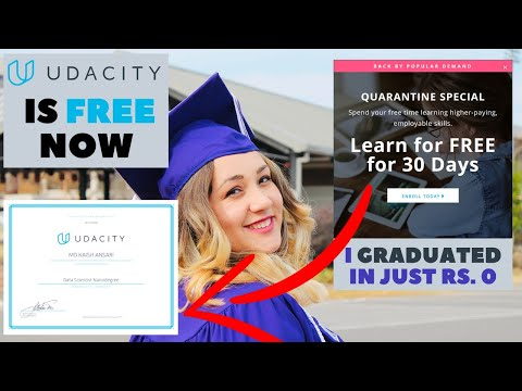 [Updated] Get Udacity Premium Subscription For Free | Get Udacity Nanodegree In Just Rs. 0 #Udacity