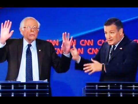 Bernie Destroys Ted Cruz In Tax Debate