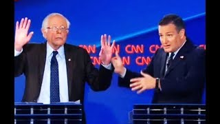 Bernie Destroys Ted Cruz In Tax Debate
