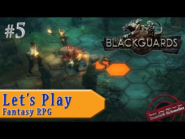 Let's Play Blackguards #5: Großer, böser Wolf (Rollenspiel / blind)