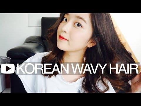 【RUNA】簡単韓国風巻き髪 ヘアアレンジ