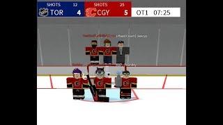 NHL CALGARY WINNERS! (Roblox)