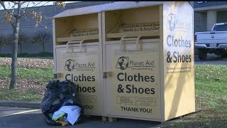 Donation bins: Where do your clothing donations go?