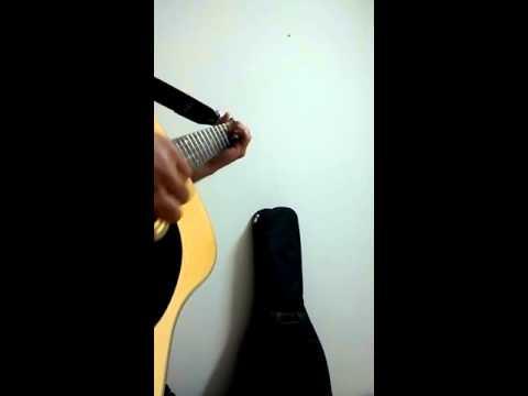 O mere Dil ke Chain | Kishore Kumar | Guitar Instrumental | Tommy Emmanuel Inspired