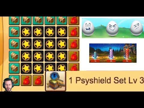 JT's Main FULL Bingo Card 24 Smash & Win + Fireworks Castle Clash