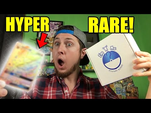 I PULLED A HYPER RARE! - Opening Pokemon Cards from HUGE Pokémon TCG box full of MYSTERY!